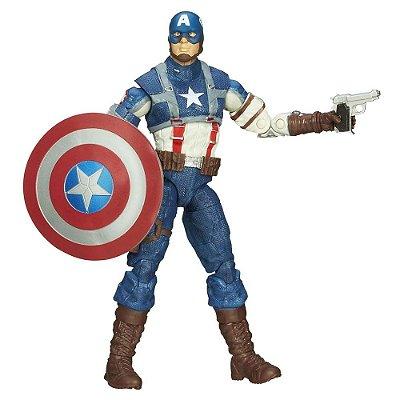 Boneco Capitão América Hasbro Marvel Legends Infinite Series