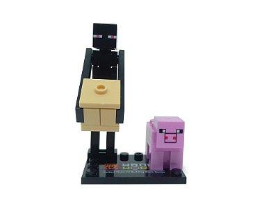 Set MineCraft -  Pig e Enderman #80