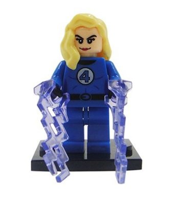 Mini Figura Marvel - Mulher Invisível #66;
