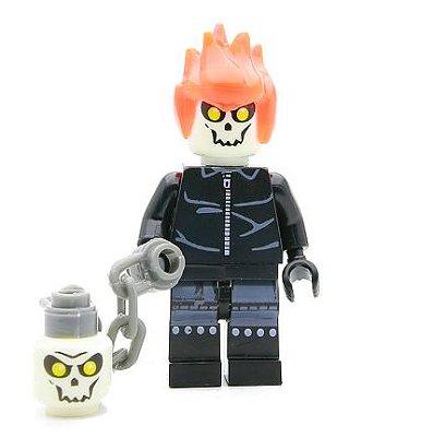 Minifigura Marvel - Motoqueiro Fantasma #55