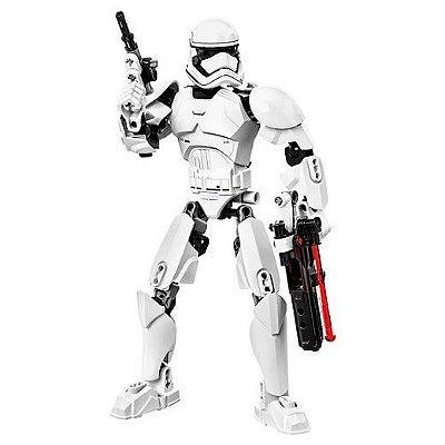 Boneco Star Wars - Stormtrooper da Primeira Ordem Compatível Lego 81 Peças