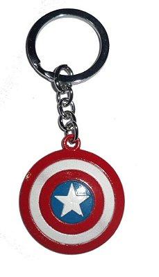Chaveiro Escudo Capitão América Aço