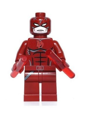 Mini Figura Compatível Lego Demolidor Marvel