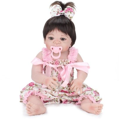 Bebê Reborn de Silicone Sara 55 cm Molde Vitória - PRONTA ENTREGA !!