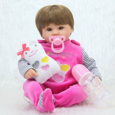 Bebê Reborn Laura Linda Menina 40 cm - PRONTA ENTREGA!!
