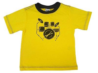 Camiseta bateria