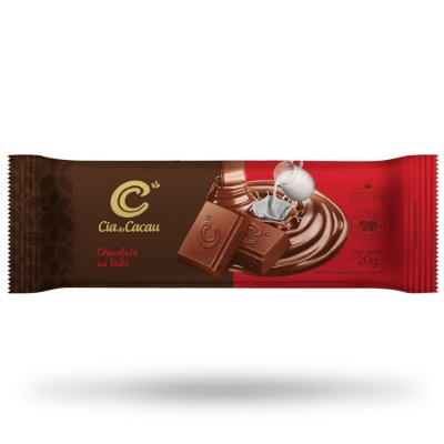 BARRINHA CIA CHOCOLATE LEITE 20g