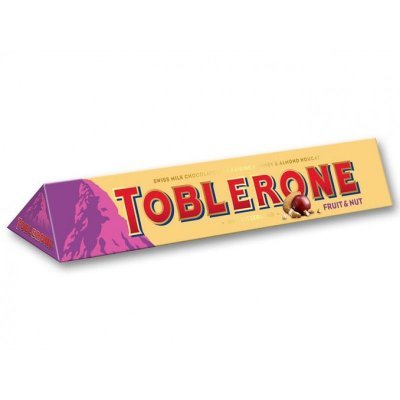 TOBLERONE FRUIT AND NUIT 100G