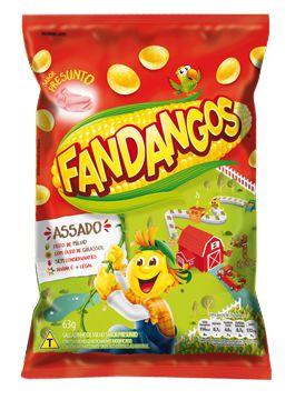 SALGADINHO FANDANGOS PRESUNTO 50g