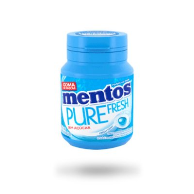 MENTOS CHICLE PURE FRESH MINT 56g