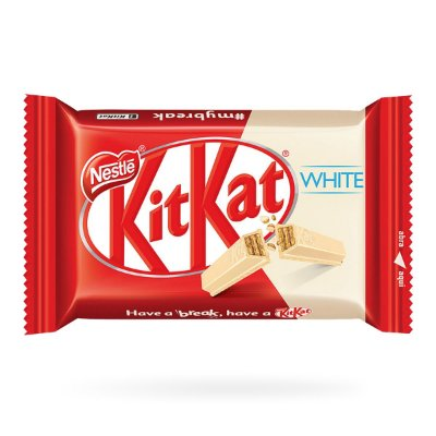 NESTLE CHOCOLATE KITKAT WHITE 41g