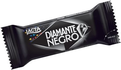 TABLETE LACTA DIAMANTE NEGRO 20g