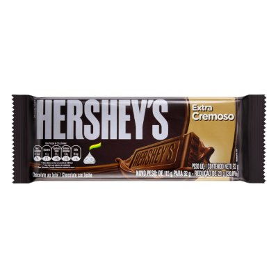 HERSHEYS CHOCOLATE TABLETE EXTRA CREMOSO 92g