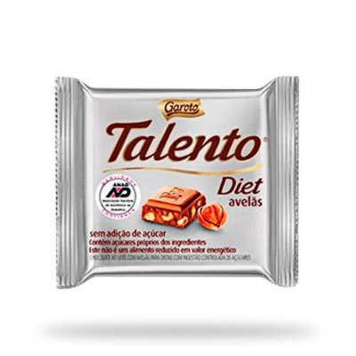 GAROTO CHOCOLATE LEITE TALEN MINE DIET