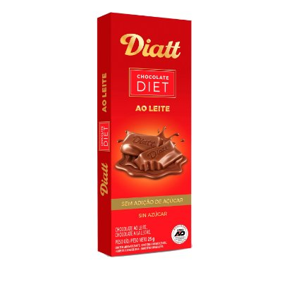 DIATT DP TABLETE AO LEITE 25g