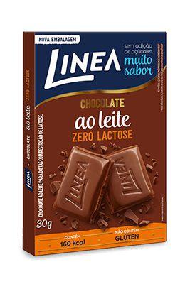 LINEA CHOCOLATE ZERO LACTOSE 30g