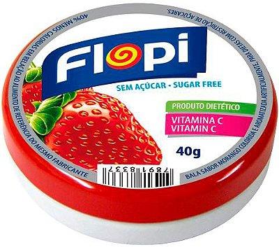 FLORESTAL PASTILHA FLOPY DIET MORANGO 40g