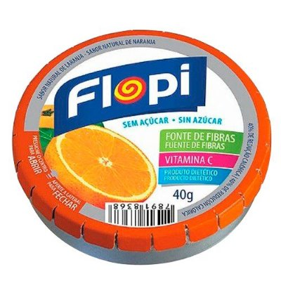 FLORESTAL PAST FLOPY DIET LARANJA 40g
