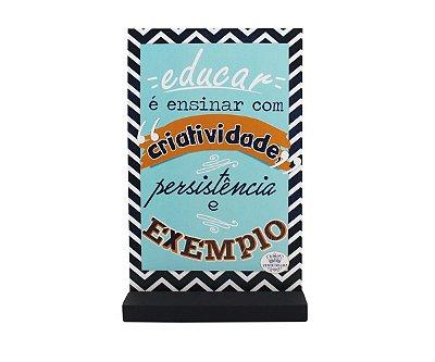 ENFEITE DE MESA EDUCAR - EDUCAR É ENSINAR COM CRIATIVIDADE...