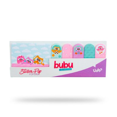 UATT STICKER POP - BUBU E AS CORUJINHAS