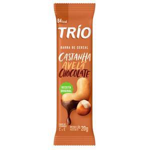 TRIO CASTANHA AVELÃ CHOCOLATE