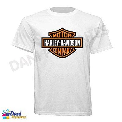 Camiseta Harley-Davidson Motor Company - 100% Algodão