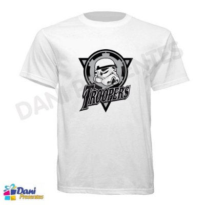 Camiseta Star Wars - Stormtroopers - 100% Algodão