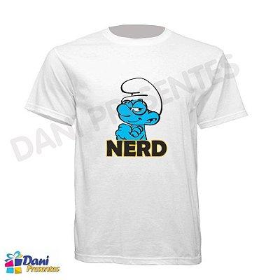 Camiseta Nerd Os Smurfs - 100% Algodão