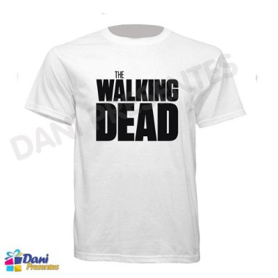 Camiseta The Walking Dead - 100% Algodão