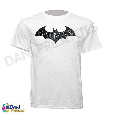 Camiseta Batman - 100% Algodão