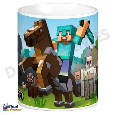 Caneca Minecraft - Cavalo