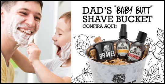Dad's Shave Bucket