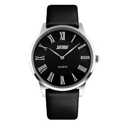 Relógio Masculino Skmei Analógico 9092 - Preto