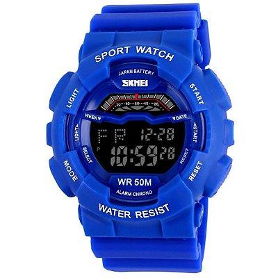 Relógio Masculino Skmei Digital 1012 - Azul