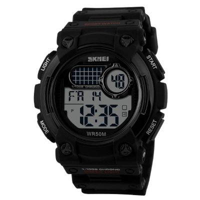 Relógio Masculino Skmei Digital 1054 - Preto