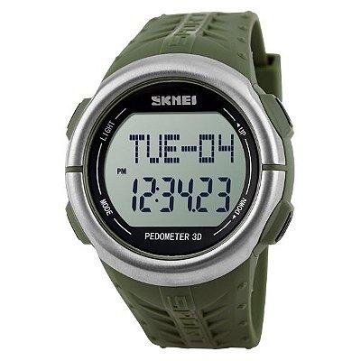 Relógio Masculino Skmei Digital Pedômetro 1058 VD