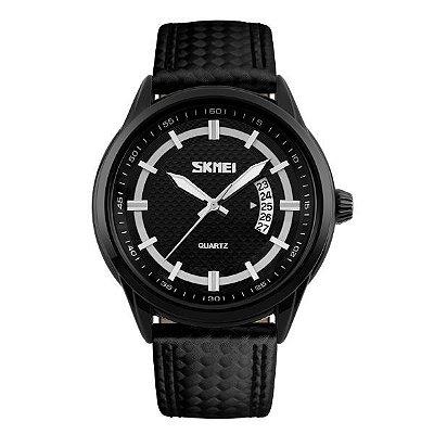 Relógio Masculino Skmei Analógico 9116 Preto e Branco