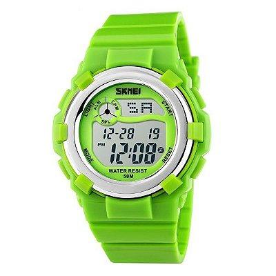 Relógio Feminino Skmei Digital 1161 Verde