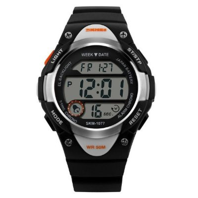 Relógio Infantil Skmei Digital 1077 Preto