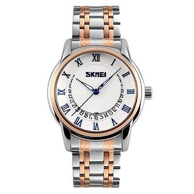 Relógio Masculino Skmei Analógico 9122 Azul