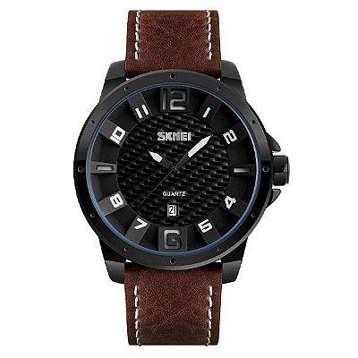 Relógio Masculino Skmei Analógico 9150 Marrom