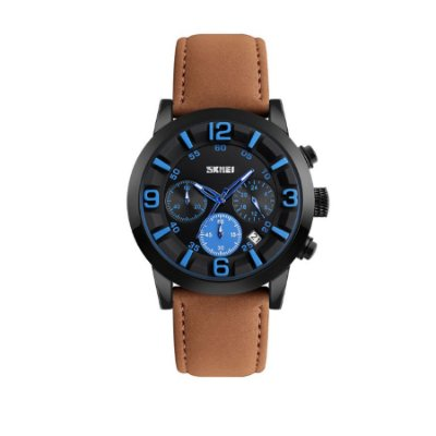 Relógio Masculino Skmei Analógico 9147 Marrom