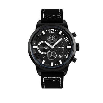 Relógio Masculino Skmei Analógico 9149 Branco