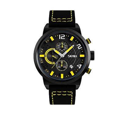 Relógio Masculino Skmei Analógico 9149 Amarelo