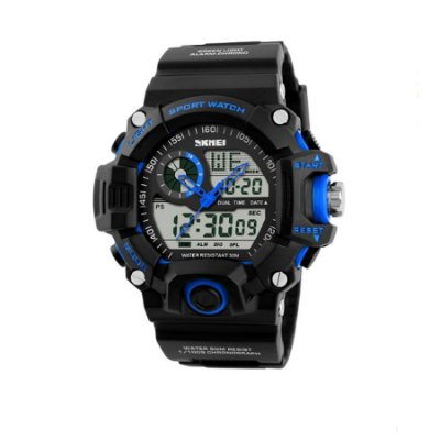 Relógio Masculino Skmei Anadigi 1029 Azul