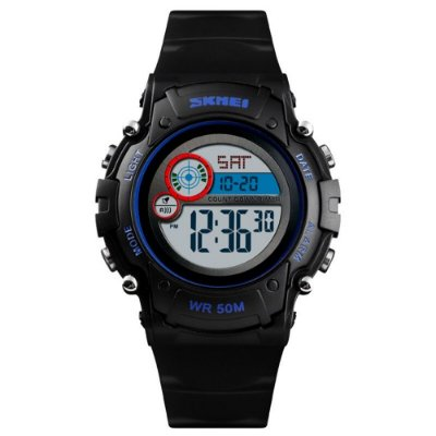 Relógio Infantil Skmei Digital 1477 Preto