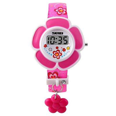 Relógio Infantil Skmei Digital 1144 Rosa