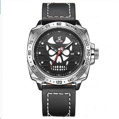 Relógio Masculino Weide Analógico UV-1510 Branco