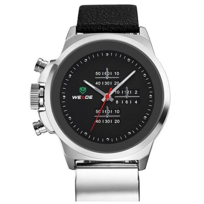 Relógio Masculino Weide Analógico CasualWH3305B Preto