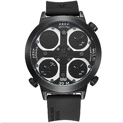 Relógio Masculino Weide Analógico UV-1503 Preto